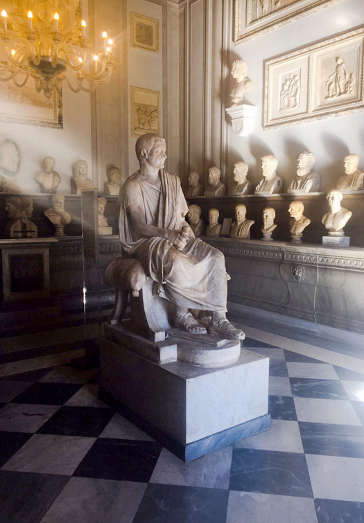 First Gallery In The World The Capitoline Museums